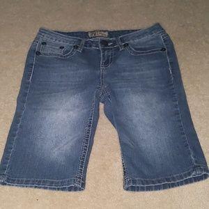 Y M I  jean shorts